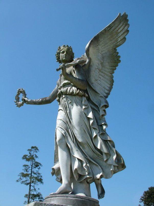 Angel statue - powerscourt - wicklow - ireland