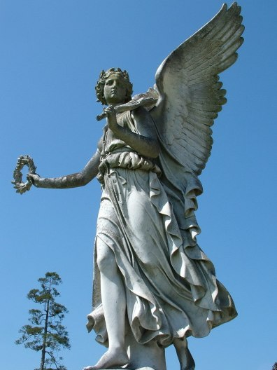 Angel statue - powerscourt - wicklow - ireland