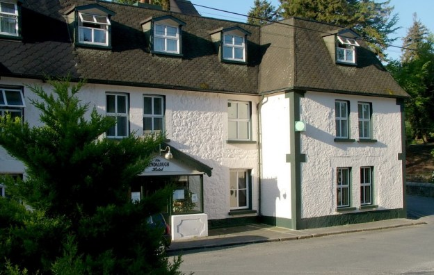 Glendalough hotel - in the Wicklow Mountains - Ireland