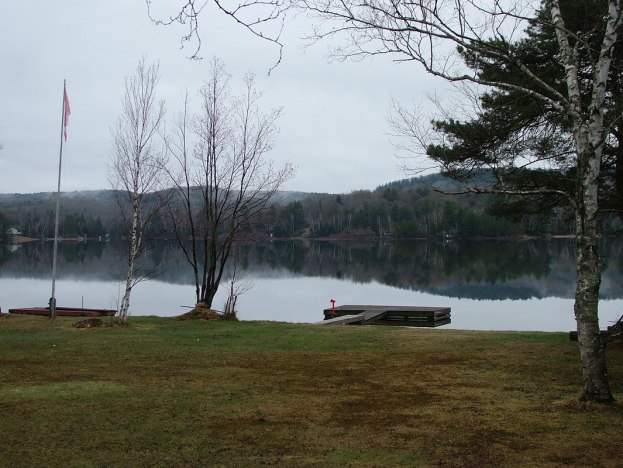 Oxtongue Lake in a normal spring