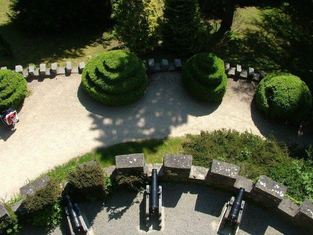 Pepper Pot Tower - view looking down - Powerscourt - Ireland
