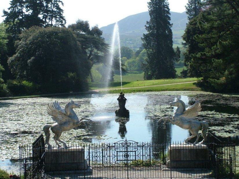 Triton Lake - Winged Horses - Powerscourt - Ireland