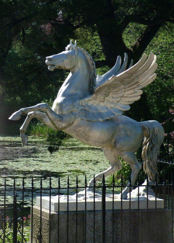 Winged Horse statue - Powerscourt - Ireland