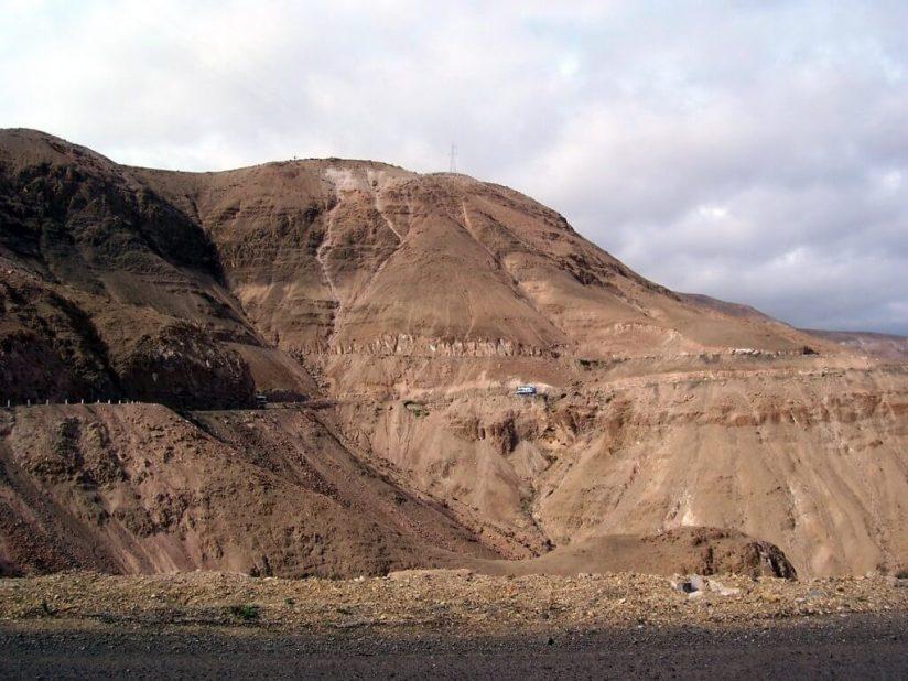 Highway 26, heading west to Nazca, Peru