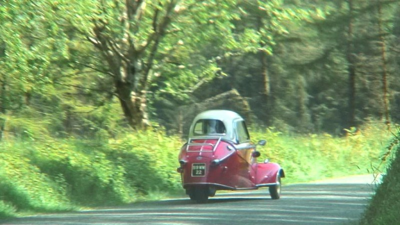 Red Messerschmitt KR- 175 microcar -- Enniskerry - Wicklow - Ireland