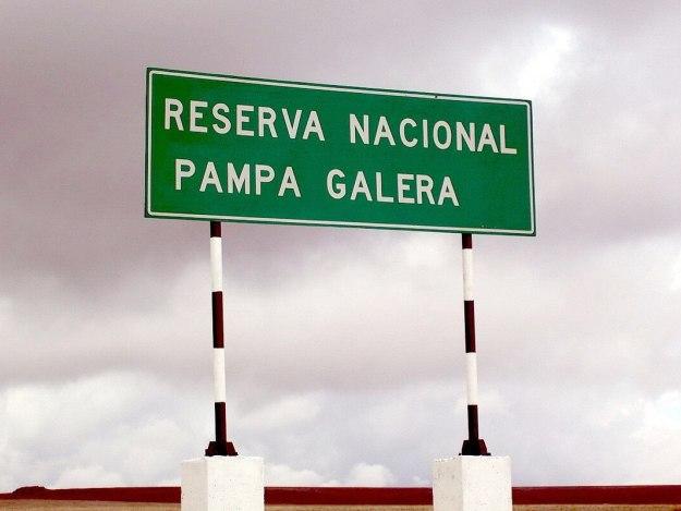 Reserva Nacional Pampa Galera, Peru