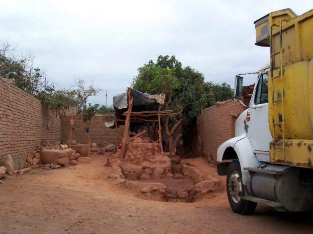 Gold processing plant in Nazca - peru