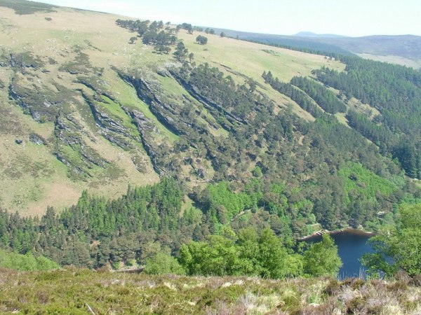 upper lake - wicklow mountains national park - ireland