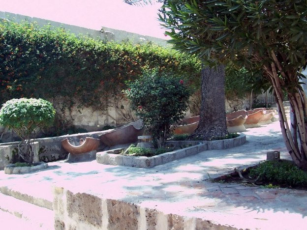 Laundry courtyard, Santa Catalina Convent, Arequipa, Peru