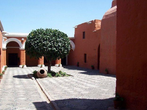 Novices Cloister, Santa Catalina Convent, Arequipa, Peru