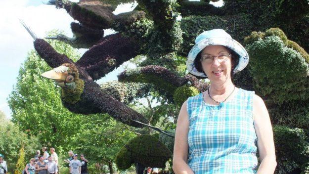 Tree of Birds (Jean) - Mosaiculture - Montreal Botancial Gardens
