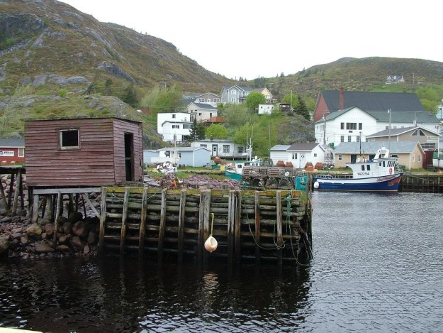village harbour in newfoundland in canada