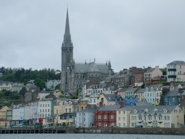 cobh town, st colman's cathedral and village, titanic experience, county cork, ireland