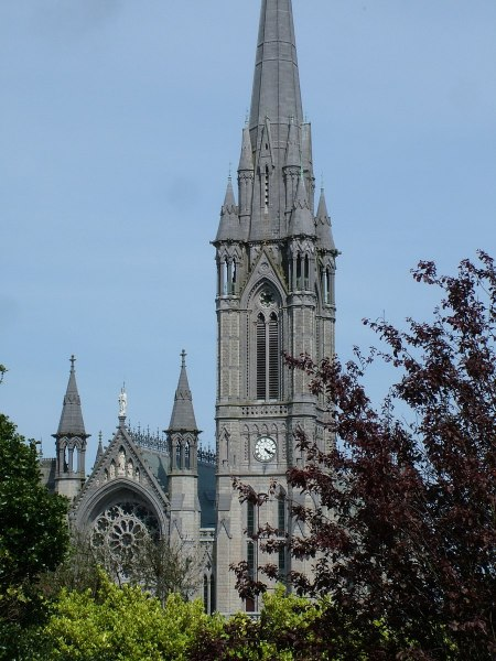 st colman cathedral, steeple, cobh, county cork, ireland
