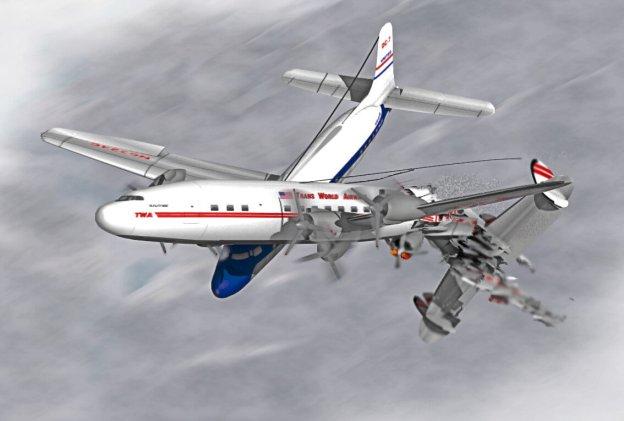 1956_Grand_Canyon_midair_collision