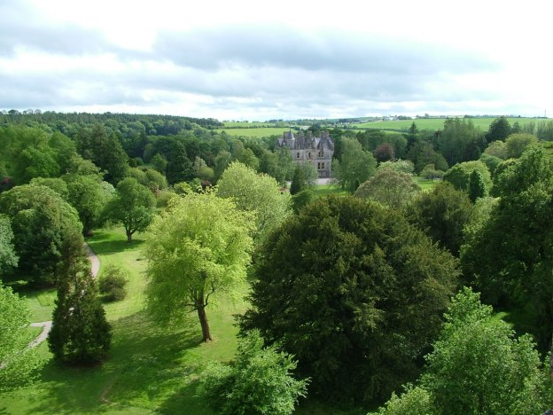 blarney house and forests, blarney castle, ireland