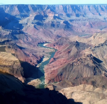 Colorado River at the Grand Canyon in Arizona