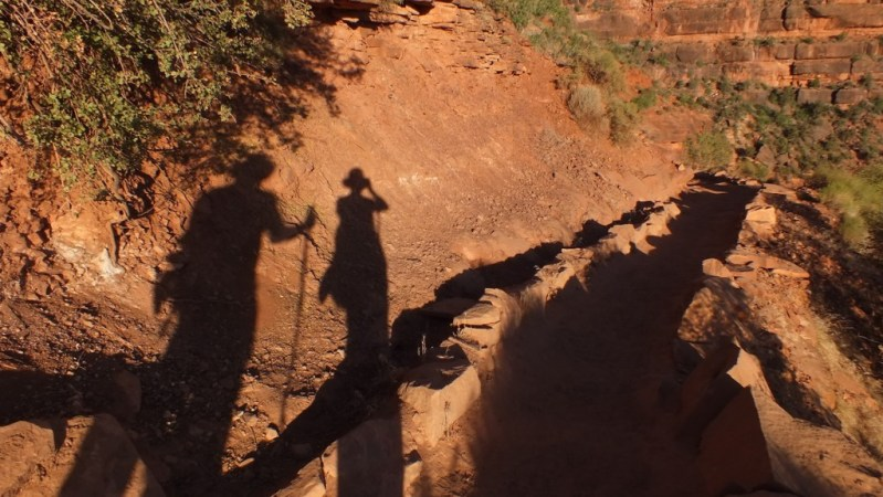 shadows on bright angel trail 3c