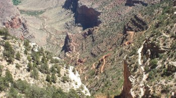 switchbacks on bright angel trail 6e