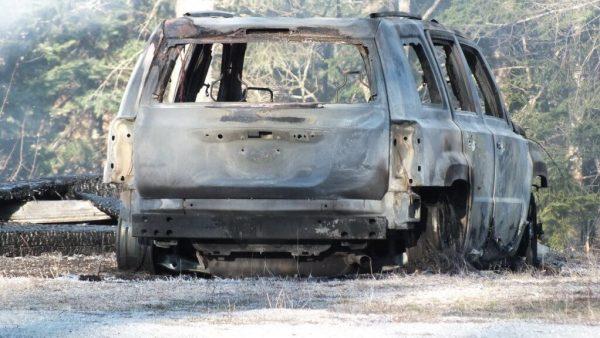 timber trail fire, oxtongue lake 7