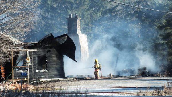 timber trail fire, oxtongue lake 8