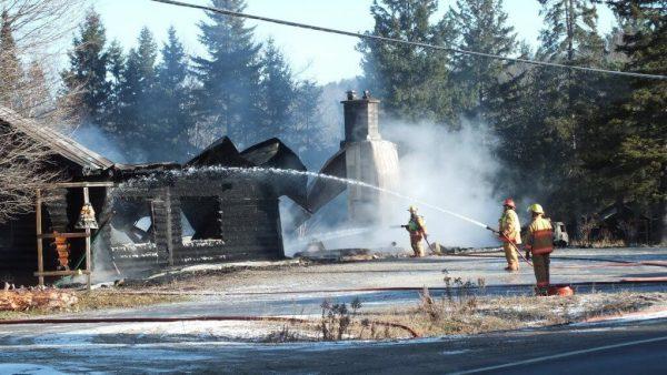 timber trail fire, oxtongue lake 9