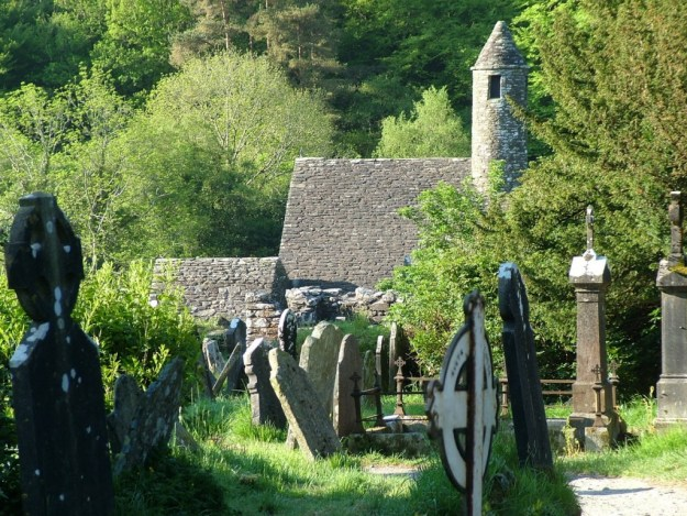 St Kevin's Church in Glendalough - Ireland