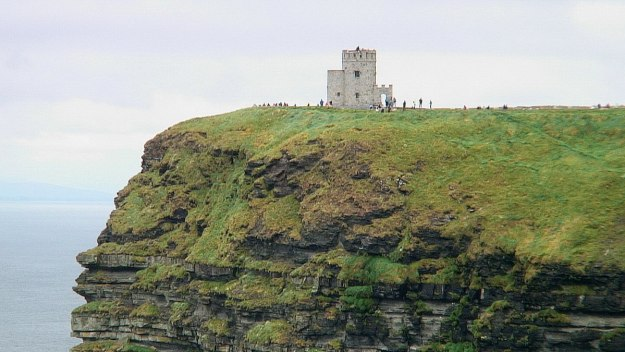 o'briens tower on cliffs of moher