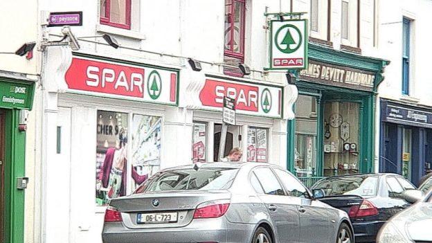 Spar store in Ennistymon, County Clare, Ireland