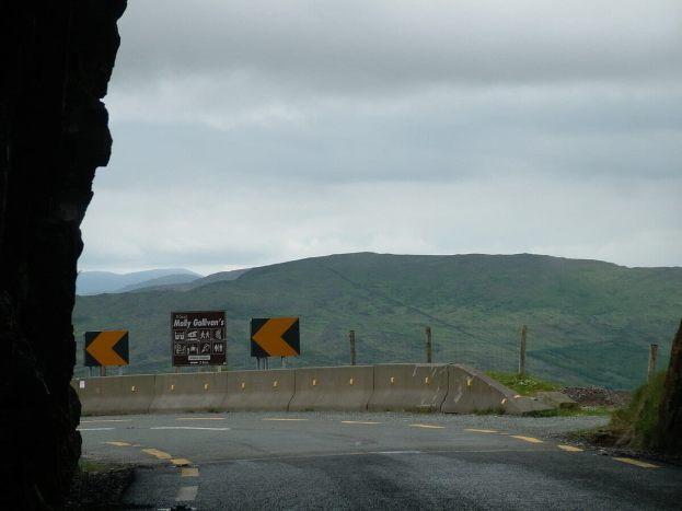 tunnel exit, caha pass, ireland 7