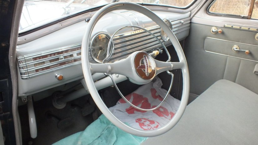 1941 Chevrolet special deluxe Business Coupe - steering wheel