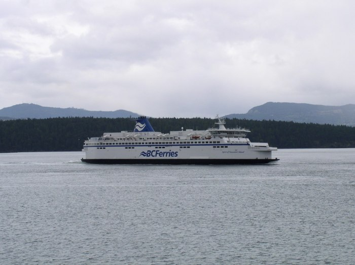 BC Ferry Of Vancouver Island 1