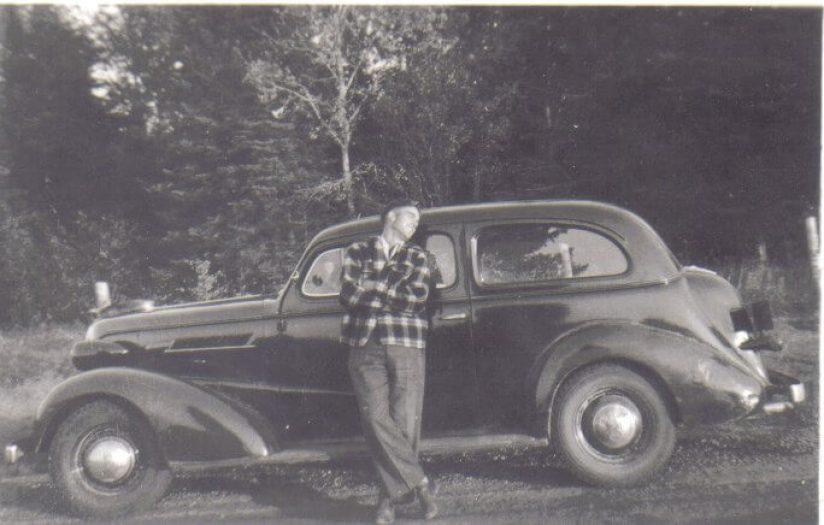 Marv adores his 1937 Chev