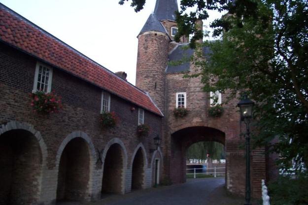 Oostpoort - east gate in delft - netherlands