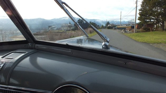 driving a 1941 Chevrolet special deluxe Business Coupe - vancouver island