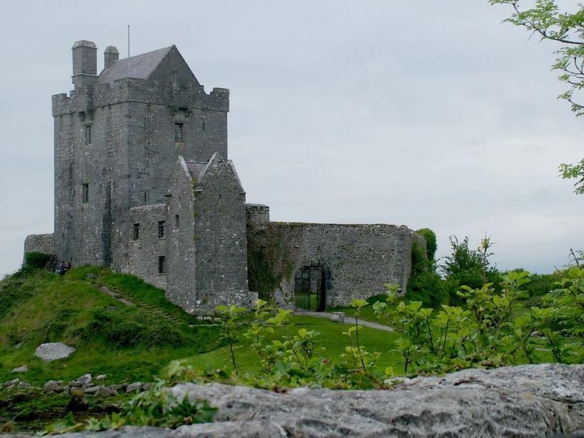 dunguaire castle the burren - ireland