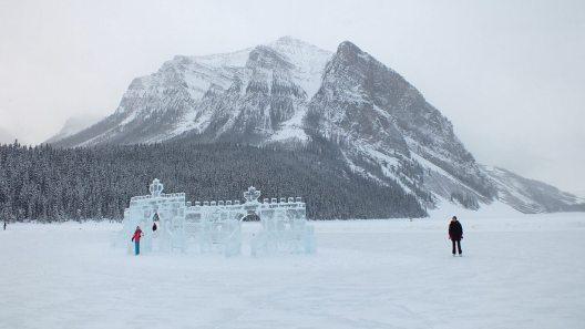 ice castle on lake louise - 2014 - 4