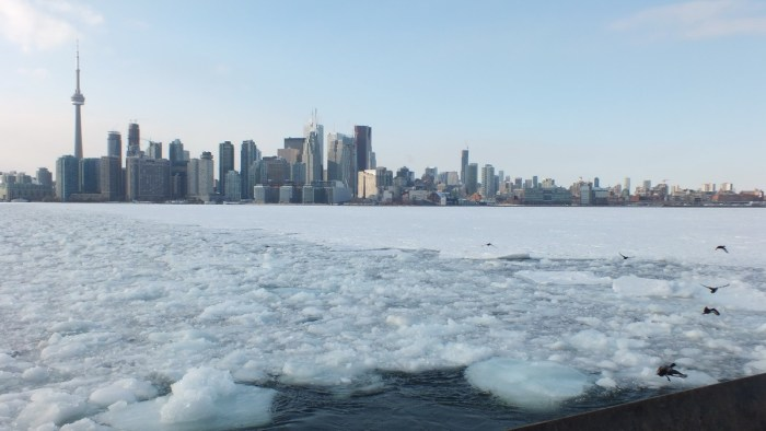 icy toronto harbour - ontario 5