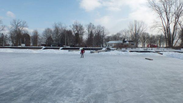 lagoon skating rink on ward's island - toronto 2