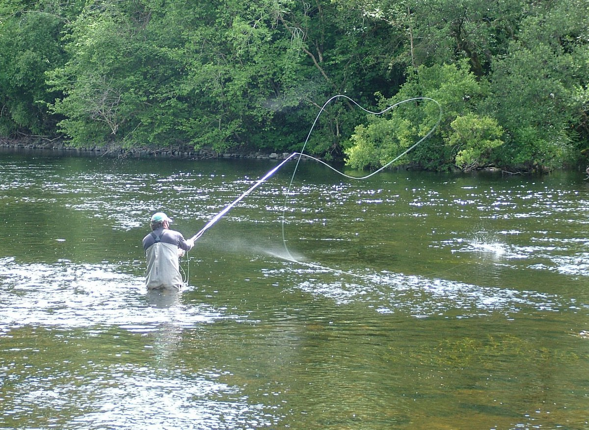 Our visit to cong abbey ruins in ireland for Fishing in ireland