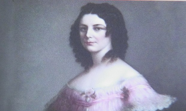 Painting of Margaret Henry from Kylemore Abbey in Ireland