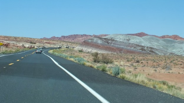 painted desert - hwy 89 - arizona