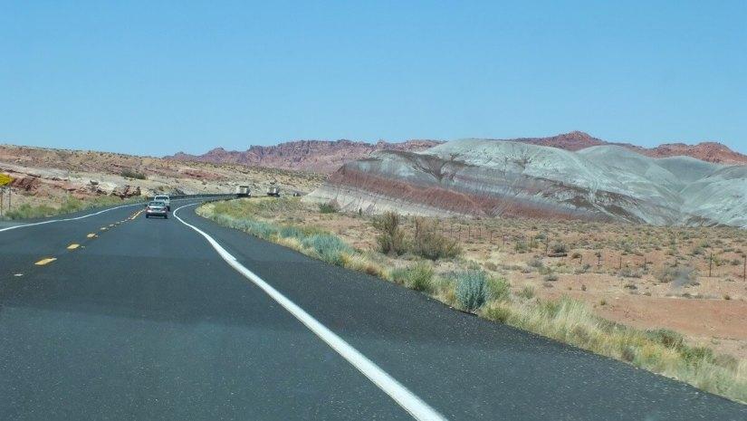 painted desert - hwy 89 - arizona