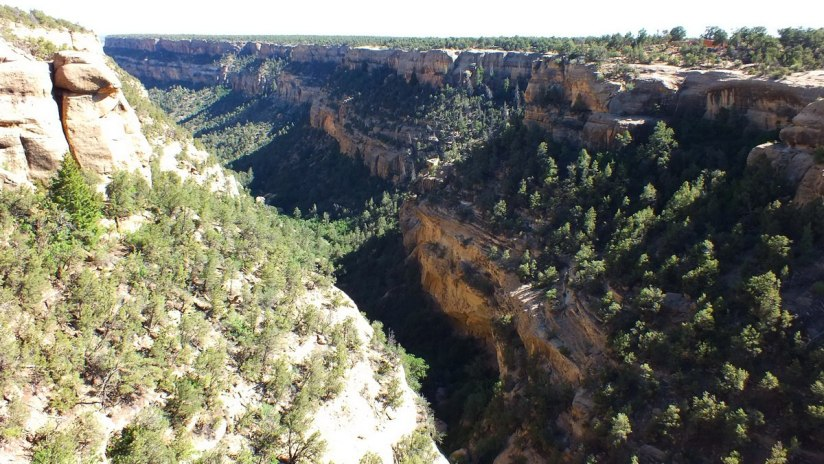 canyon at mesa verde national park - colorado 3