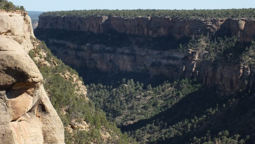 mesa verde - the green table on the right - colorado - usa