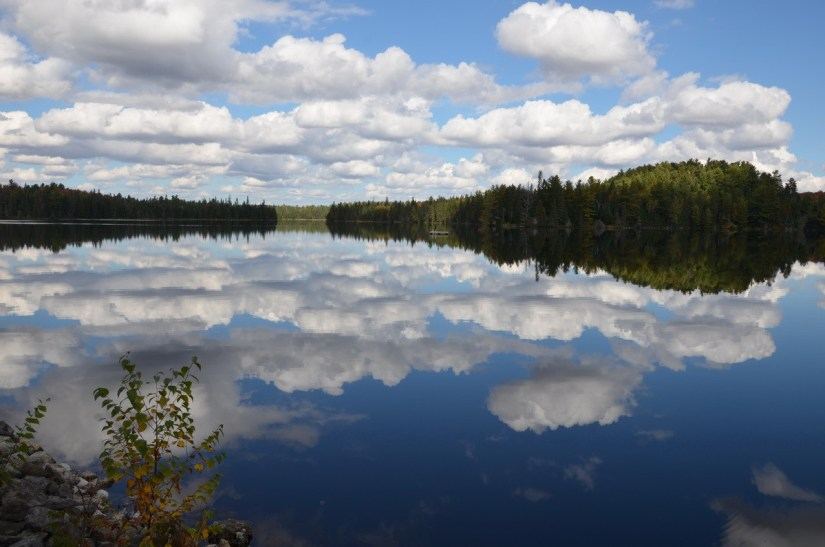 clouds and water in algonquin park - ontario 2