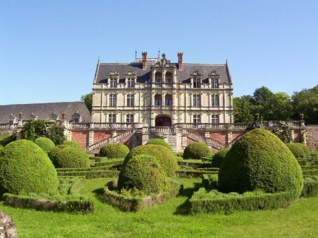 An image of Chateau de la Bourdaisiere in the Loire Valley in France.