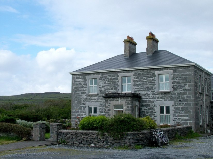An image of Kilmurvey House near Dun Aonghasa Fort on Inishmore Island, in Ireland. Photography by Frame To Frame - bob and Jean.