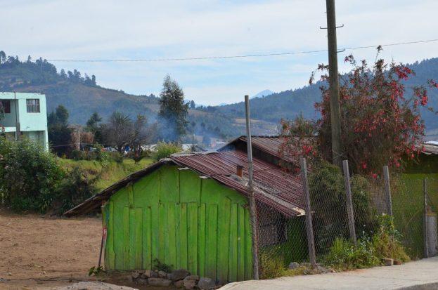 homes near angangueo, mexico