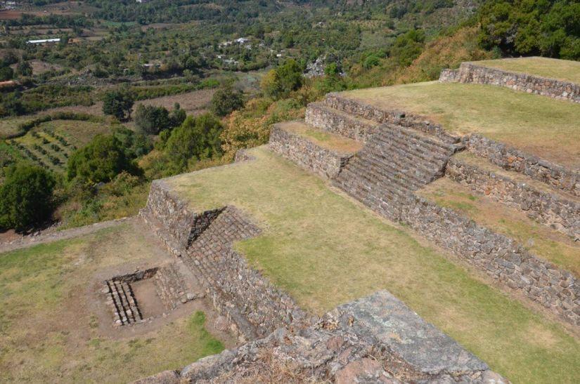 pyramids of san felipe de los alzati zitacuaro mexico photo 32